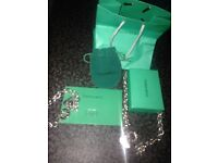Tiffany&co sterling silver necklace and bracelet for sale
