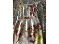 Monsoon dress occasion wedding guest size 14