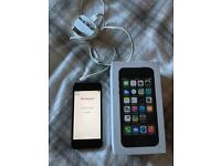 Black iPhone 5s 16gb