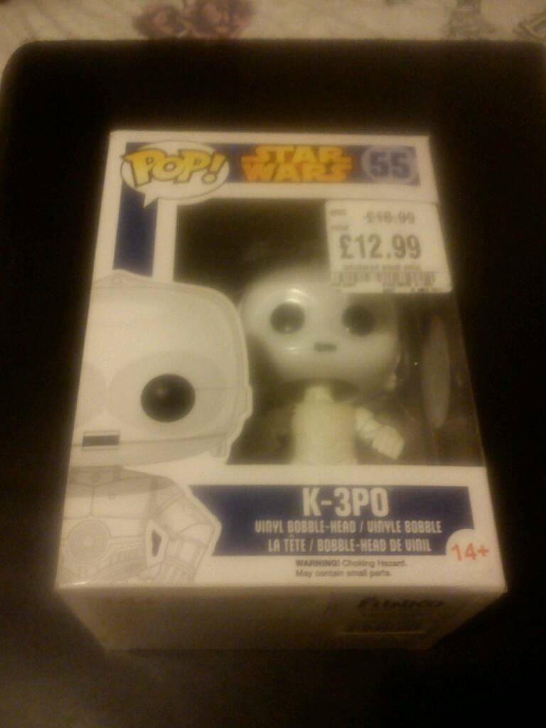 Star Wars K-3P0 Funko Pop Vinyl Figure