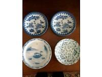Four Ornamental Plates