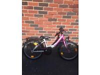 Girls bike 8 - 10
