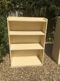 bookcases mdf, two different sizes