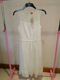 Ladies Falmer Ivory Lace Festival dress Size 12 NEW tags attached