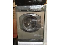 HOTPOINT free standing washing machine 6 kg silver nice condition & fully working order