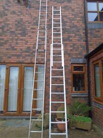 zarges triple ladders