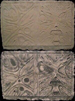 Gothic Evil NECRONOMICON Book of the Dead latex BOOK COVER - AOD - RAW casting