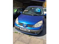 RENAULT SCENIC 1.9 DCI DIESEL LONG MOT APRIL 2018