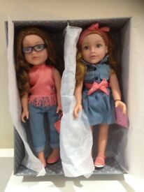 Latest Design a Friend/ designafriend/ designa friend best friend dolls , new in box