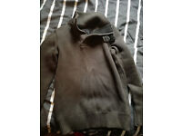 Superdry mens jumper - size small - brown