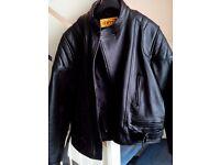 Learher motorbike jacket