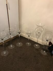 Centre piece vases