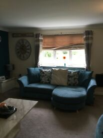 3 piece sofa suite. 4 seater, 3seater and chair