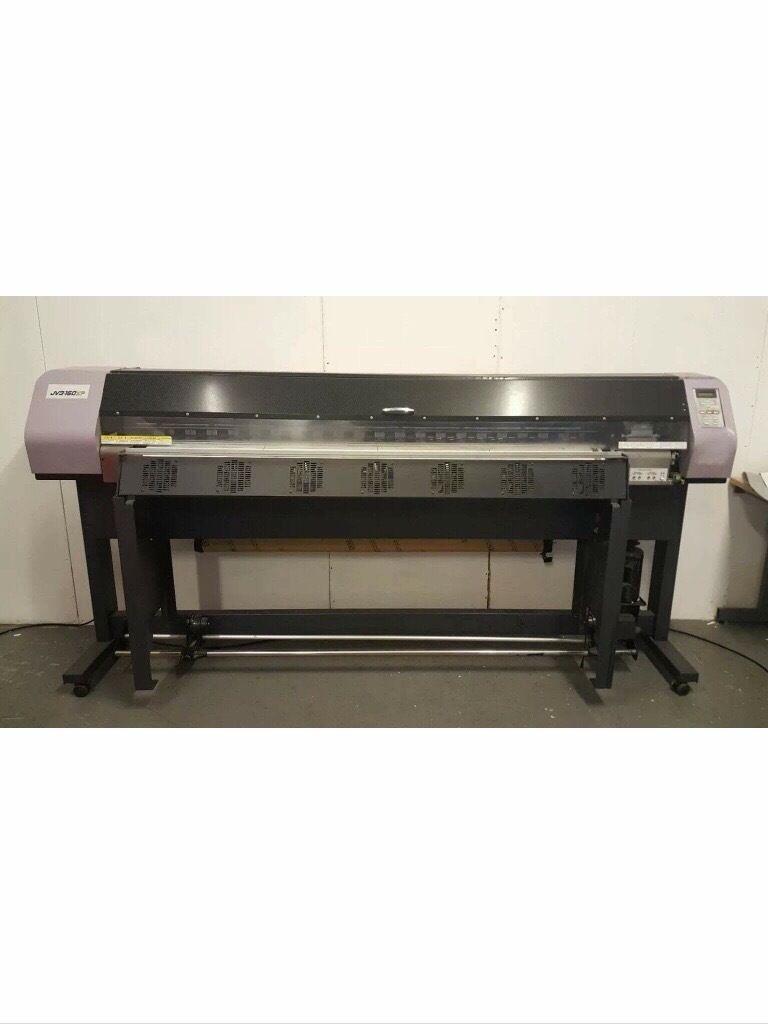 Mimaki JV3-160 SP wide format digital printer solvent printer REDUCED
