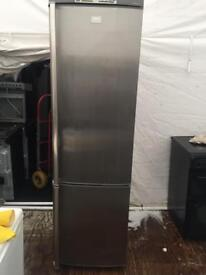 AEG stainless steel good looking frost free A-class fridge freezer
