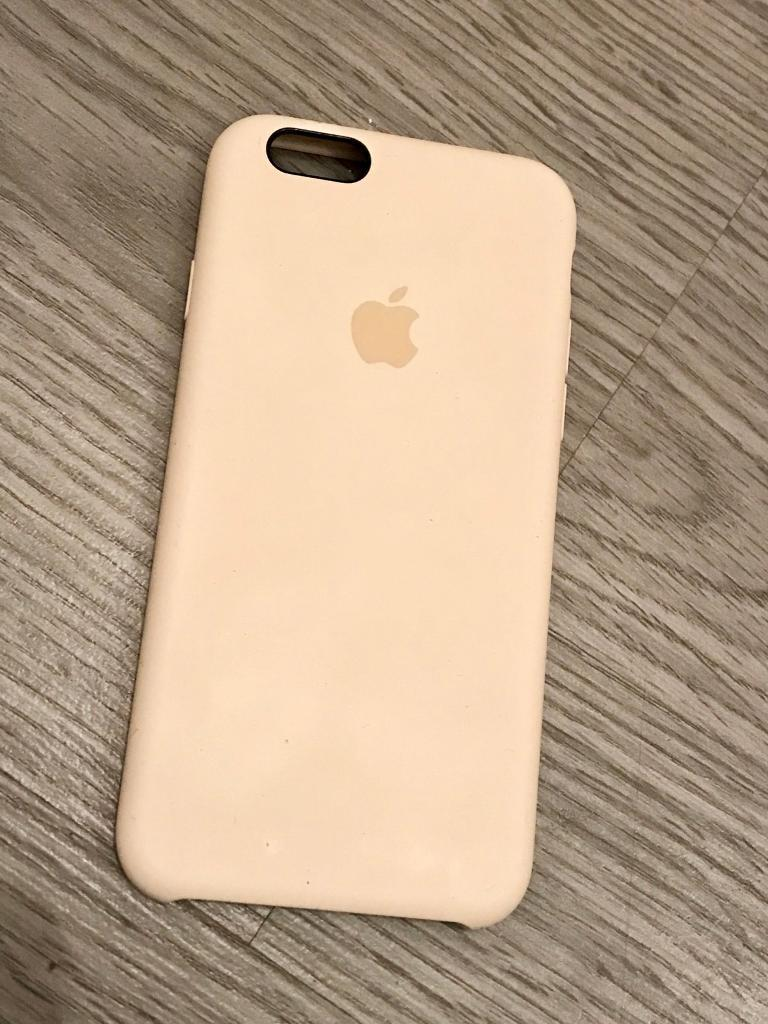 iPhone 6/6s Silicone Case - Genuine Apple Accessory - Antique White - £20