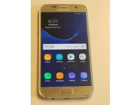 Samsung Galaxy S7 Gold unlocked immaculate condition