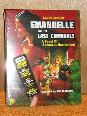 Emanuelle And The Last Cannibals [1977] (Blu-ray/CD, 2018, 2-Disc, LIMITED) NEW](The Last Halloween Dvd)