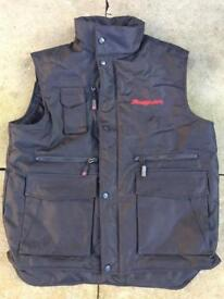 Snap on body warmer like new size (M)