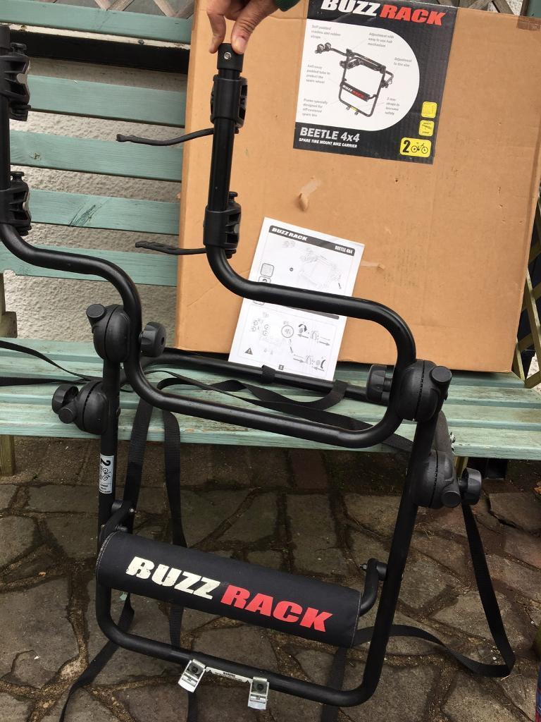 Spare Tyre Mount 4x4 Bike Carrier Buzz Rack In Rogerstone