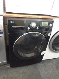 11kg black LG washing machine A+ warranty included SPECIAL OFFER £189