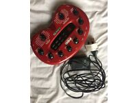 Line 6 Pod 2.0 Amplifier Modeller Guitar Multi Effect Pedal (recently serviced)