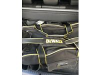 Dewalt tool bag, only 3 months old. Selling as too big for college. BARGIN as less than half price