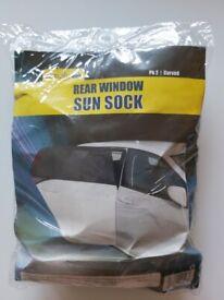 Brand New Rear Window Curve Sun Sock