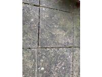 590mm x 590mm x 35mm square paving slabs