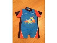 Boys zogg floatsuit age 1-2