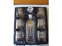 Rennie Mackintosh Glass set with decanter
