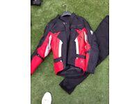 IXS Goretex 2 piece motorcycle suit