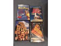 Monty Python DVDS