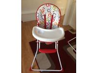 Red Kite Highchair for sale