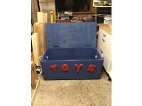 Hand made toy boxes