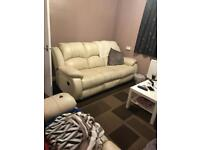 2 & 3 seater leather recliners