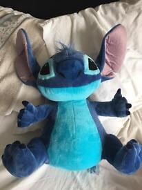 Disney store stitch soft toy plush