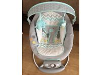 Mothercare baby bouncer - Ingenuity by Bright Starts Avondale Automatic Bouncer
