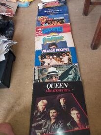 60,s and 70,s vinyl LP,s, all in used condition. 30 for sale as a whole only, £22