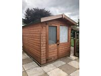 Summer house work cabin shed