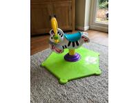 Kids bounce and spin toy