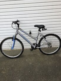 Ladies Apollo Mountain Bike Hardly Used Good Condition