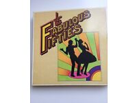 Fabulous Fifties Boxed set of 10 Vinyl LPs collection, excellent condition