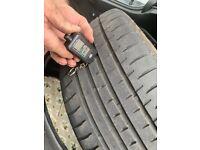 X2 Part worn tyres 255/40/19