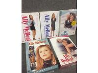 Ally McBeal Seasons One Three and Five TV American USA Rare Boxsets