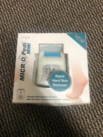 Emjoi Micro Pedi Mini Rapid Hard Skin Remover New in box