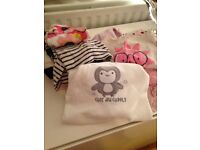 Baby clothes and baby grows sold as a lot for only £5.00
