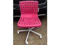 IKEA Height Adjustable Swivel Chair