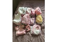 Tiny Baby Girl Clothes Bundle (5, 6, 7.5 lbs)