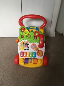 Vtech first steps walker in good used condition